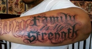 tattoo quotes for men about strength