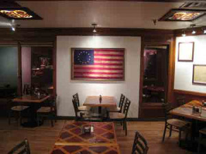 The Betsy Ross Flag (ask Jerry about his great grandmother Prudence)