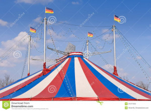 Circus Tent Frame Clipart