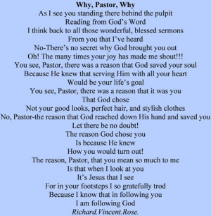 pastor pastor appreciation poem in praise of pastors wife pastors ...