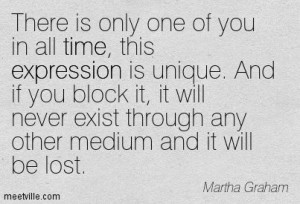 Martha Graham dance quote