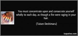 More Taisen Deshimaru Quotes
