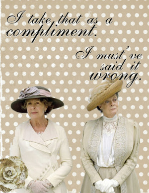 favorite lines from downton abbey excited for series 4 tomorrow