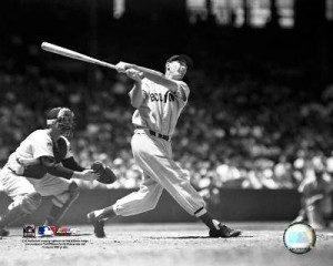 Ted Williams Boston Red Sox 8x10 Photo (Batting)