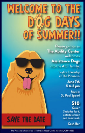 Save the Date: Dog Days of Summer Party