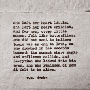 ... by rmdrk - #439 Feels like butterflies. By Robert M. Drake #rmdrake