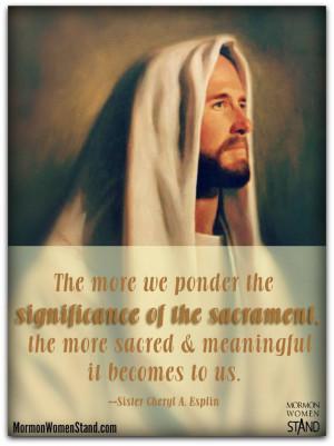 LDS Sacrament