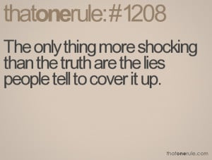 quotes about lies and trust