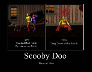 Scooby Doo - 1989 V 2009 by PerfectBlue97