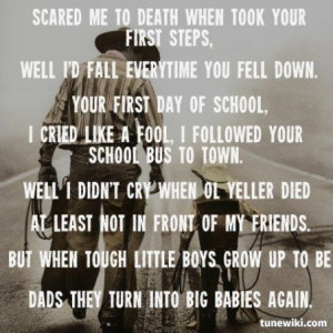 ~ Tough Little BoysGary Out, Boys Fathers, Boys'S Such, Music Quotes ...
