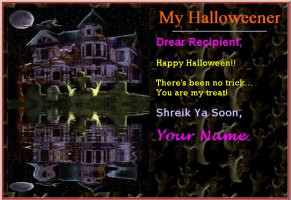 Free Halloween Card Pattern - halloween quotes, halloween sayings