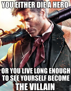 This Harvey Dent quote from The Dark Knight totally works for Booker ...