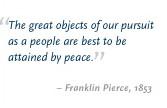 Biography: 14. Franklin Pierce