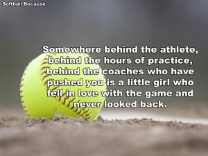 Softball Quotes HD Wallpaper 3