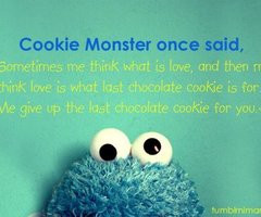 Cookie Monster Quotes Tumblr Popular cookie monster images