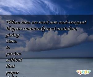 arrogant quotes
