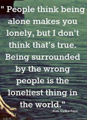 People think being alone makes you lonely - Loneliness Quotes