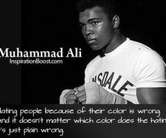 Muhammad Ali Boxing Quotes Muhammad ali respect quotes