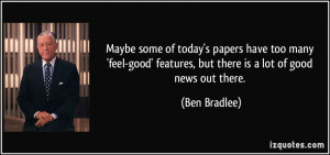 More Ben Bradlee Quotes