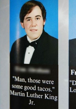 yearbook quote fails