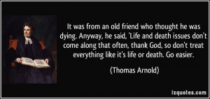 Quotes About Friends Dying