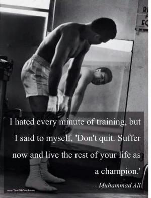 Don't quit....