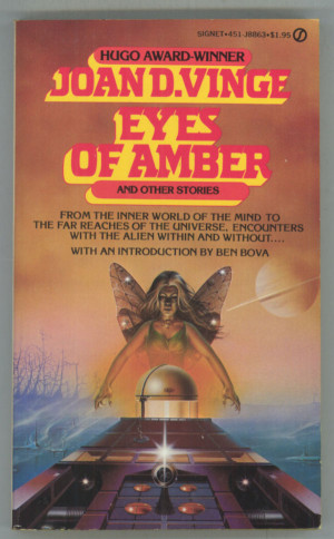 vinge joan d eyes of amber and other stories new york new american
