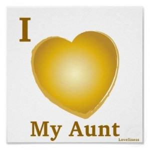 love you my aunt quotes