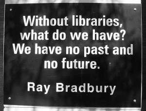 Searching for other inspiring quotes about libraries, I found this to ...