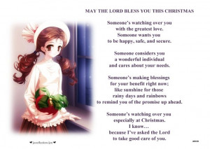 MAY THE LORD BLESS YOU...
