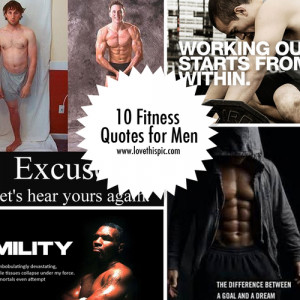 10 Fitness Quotes for Men