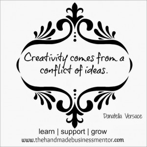 The Handmade Business Mentor: Quotes To Inspire Creativity comes from ...
