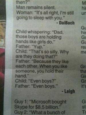 good parenting--no--amazing parenting. What a lucky, lucky kid.