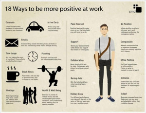 18 Ways to Have a More Positive Attitude at Work