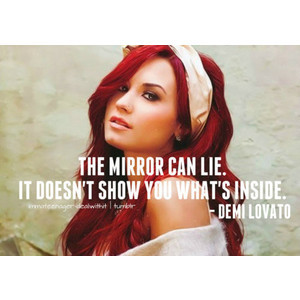 demi lovato quote♥