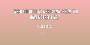 Broadway Quotes