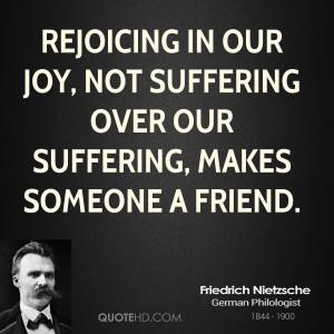 Friedrich Nietzsche Friendship Quotes