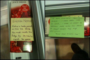 Funny-Fridge-Notes - Eviction-Notice
