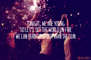 ... , quote, quotes, summer, sun, text, we are young, wild, young