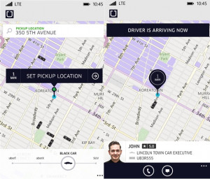 Uber Windows Phone App Updated With In-App Fare Quotes And More