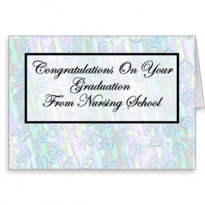 congratulations_nursing_school_graduation_card ...