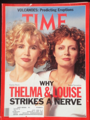 TIME MAGAZINE THELMA & LOUISE JUNE 19, 1991