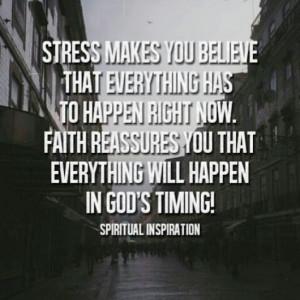 Stress vs. Faith #faith #quotes #god via Laugh.Liv.Love blog ...