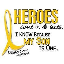 cancer quotes/pediatric cancer awareness