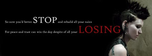 The girl with dragon tattoo 2011 quotes facebook timeline cover photo ...