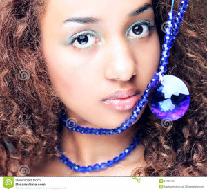 Mulatto Woman Black