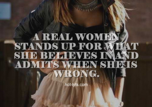 Real Woman Stands For What