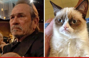 Separated at birth.I love Tommy Lee Jones but this is funny.