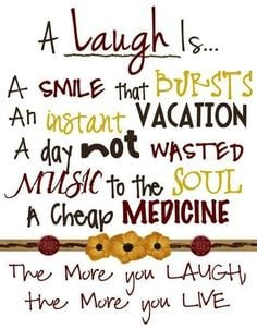 Laughter Quote Images Laugh quote on pinterest