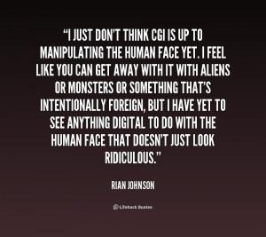 Rian Johnson Quotes
